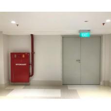 Pintu Tahan Api ( Ganda )