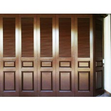 Pintu besi garasi Trees Door type TD002